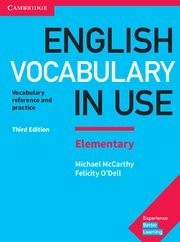 English vocabulary in use elementary 3ª edition