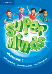 Super minds level 1 wordcards (pack of 90)