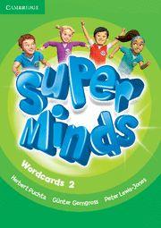 Super minds level 2 wordcards (pack of 81)