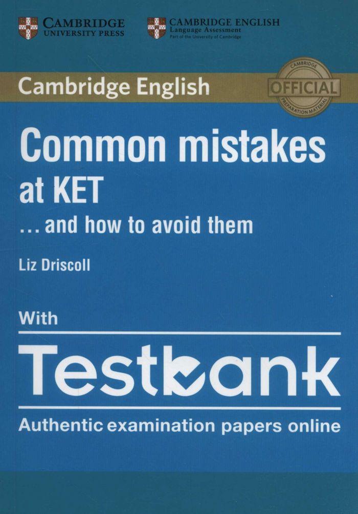 Common mistakes ket pb/testbank