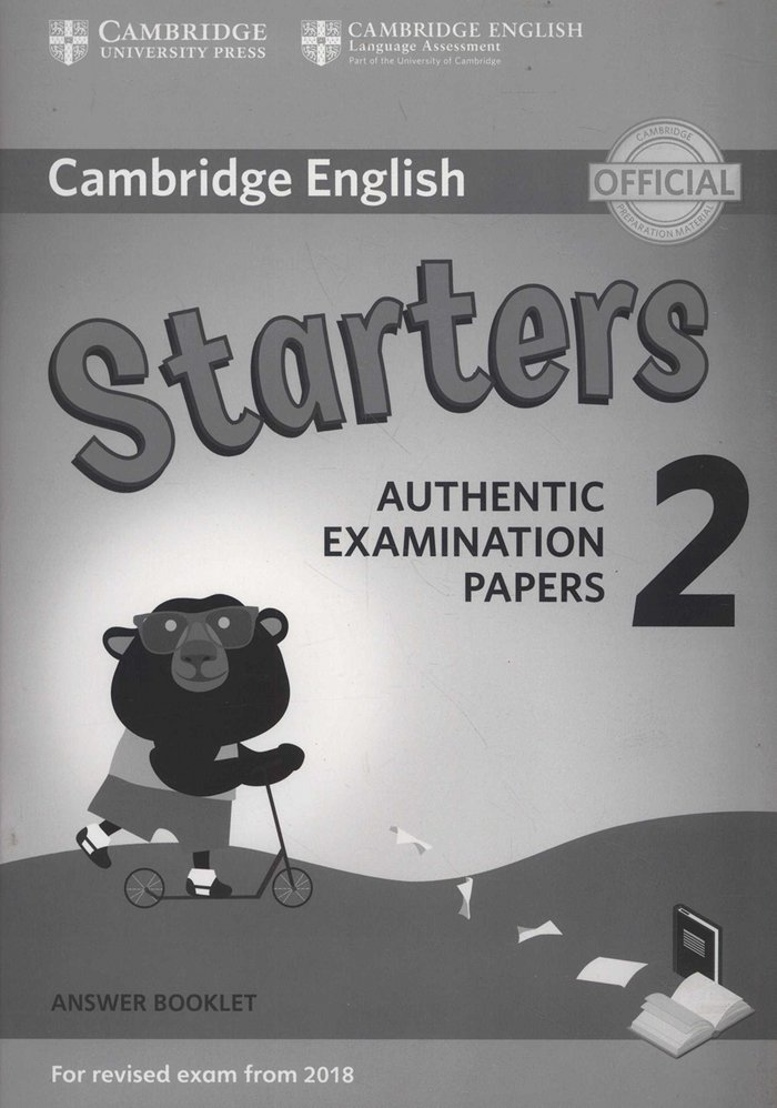 Camb.eng.young learners 2 starter answer booklet 1