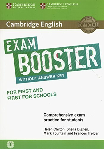 Cambridge english exam booster for first and first school