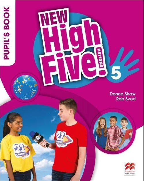 New high five english 5ºep st pack 18