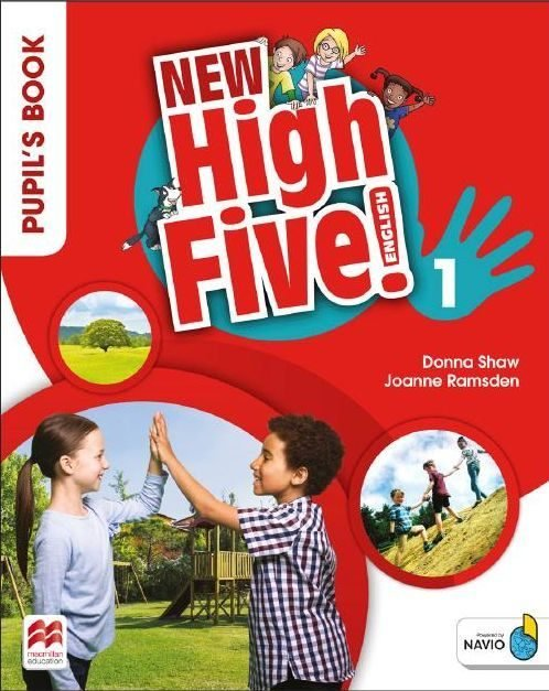 New high five english 1ºep st pack 18