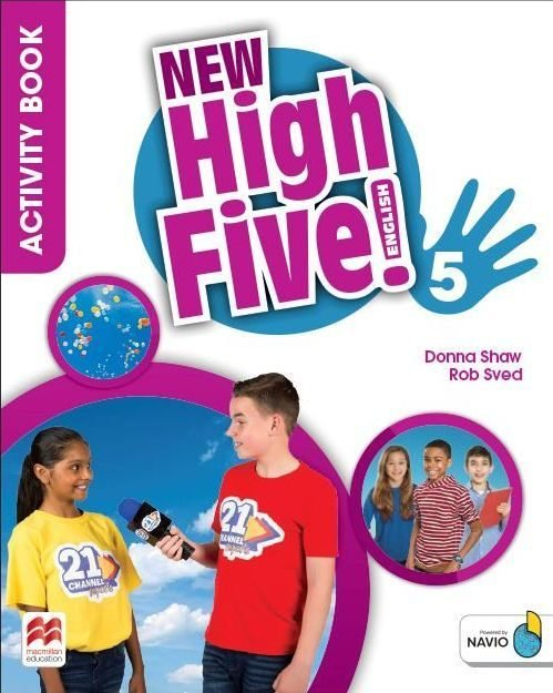 New high five english 5ºep wb pack 18