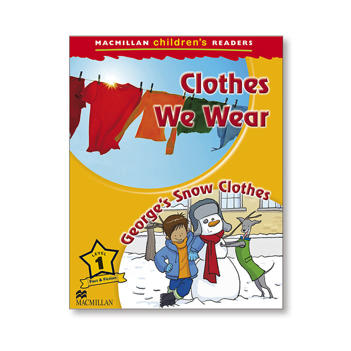 Clothes we wear new ed. mchr 1