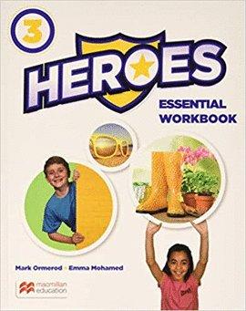 Heroes 3ºep wb essential+grammar practice 20