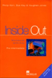 Inside out pre intermediate workbook with key +cd