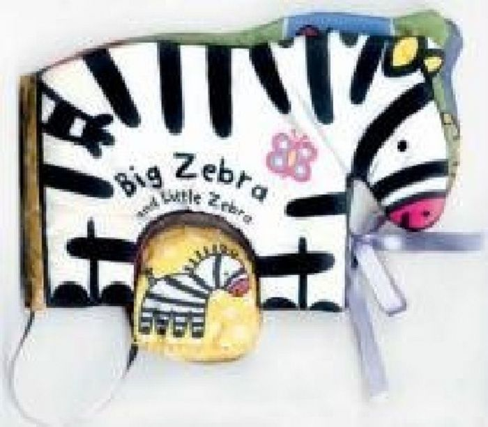 Cuddle books: big zebra
