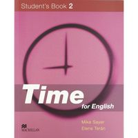 Time for english 2 st+cd (ingles)