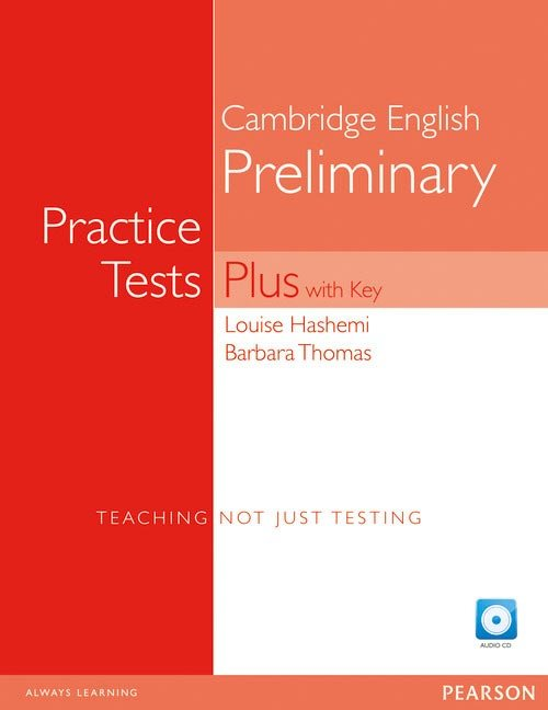 Pet practice tests plus 1 with key + cd
