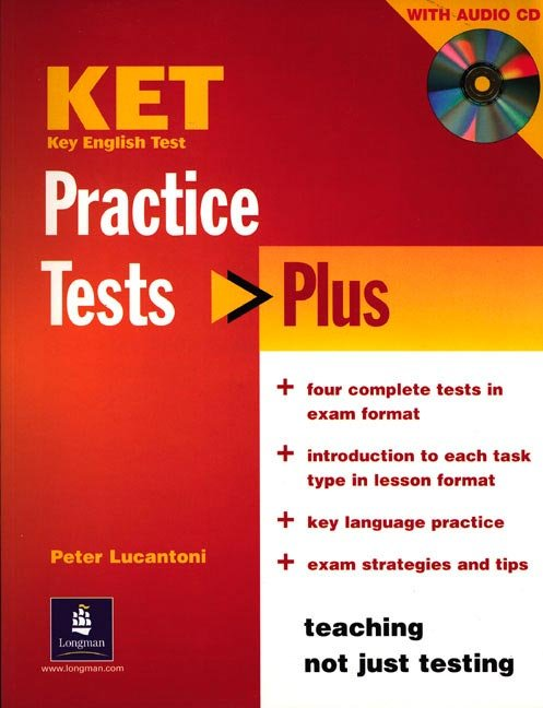 Ket practice test plus students book key english test