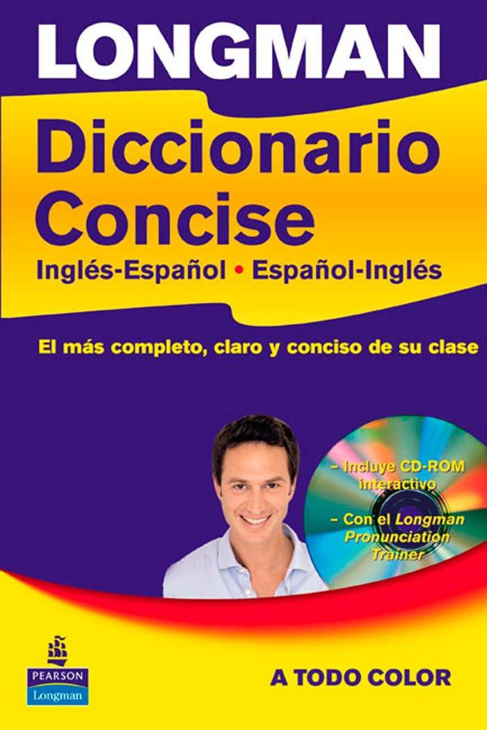 Logman dic.concise ingles-español+cd