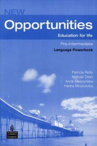 New opportunities pre-interm.language powerbook