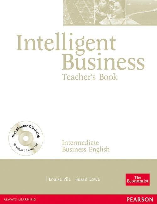 Intelligent business teachers+cd intermediate