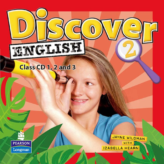 Discover english global 2 class cds