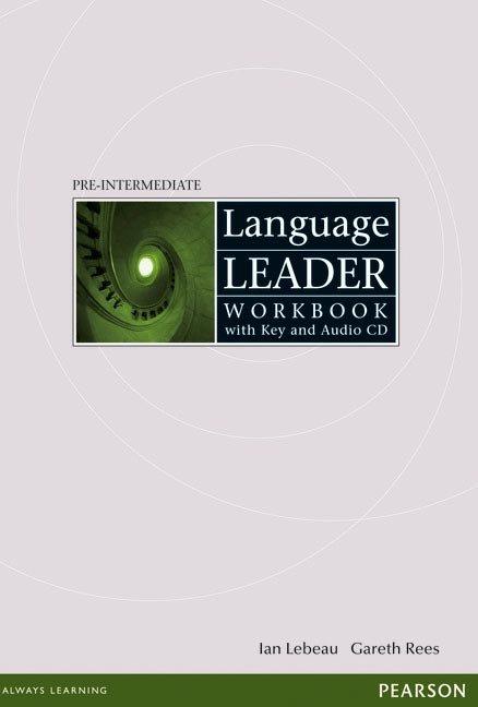 Language leader pre intermediate 08 wb eith key+cd