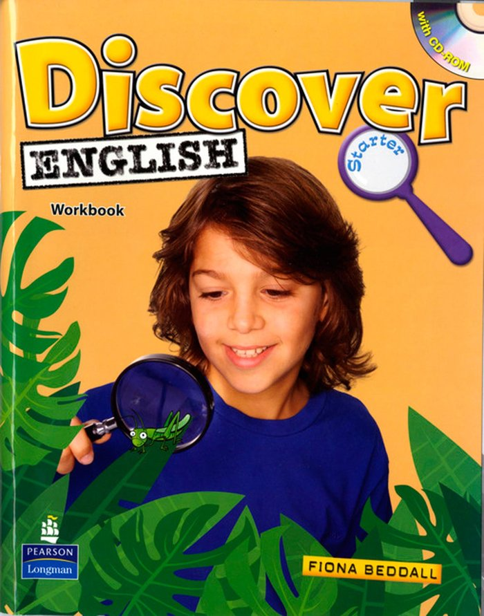 Discover english starter wb+cd 11