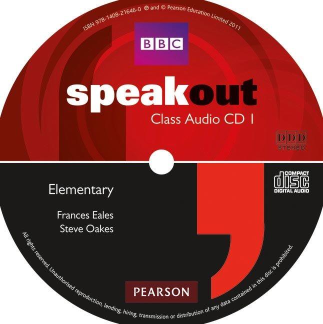Speakout elementary audio cd