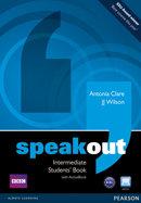 Speakout intermediate st+dvd+active 11 pack