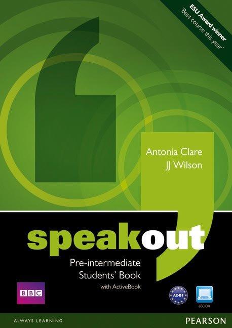 Speakout pre-intermediate st+dvd+active 11 pack