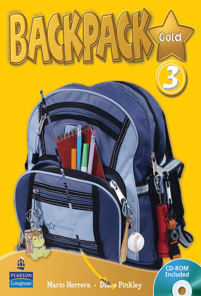 Backpack gold 3ºep st+cd 2010