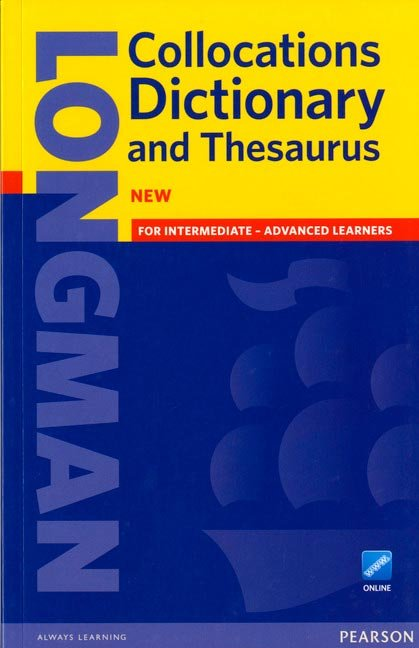 Longman collocations dictionary paper with online access