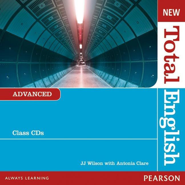 New total english advanced class audio cd