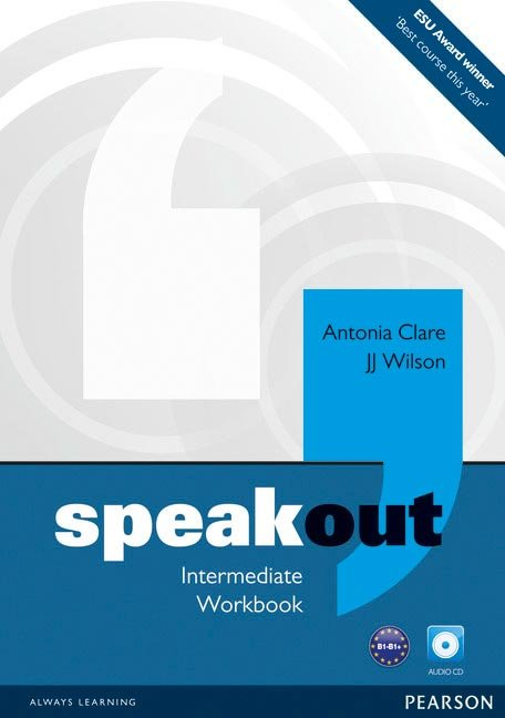 Speakout intermediate wb+cd 11 pack without key