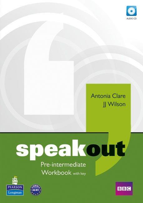 Speakout pre-intermediate wb+key+cd 11 pack