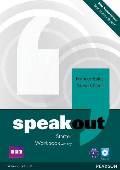 Speakout starter wb+key+cd pack
