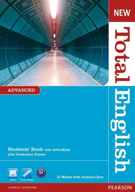 New total english advanced st+dvd 12