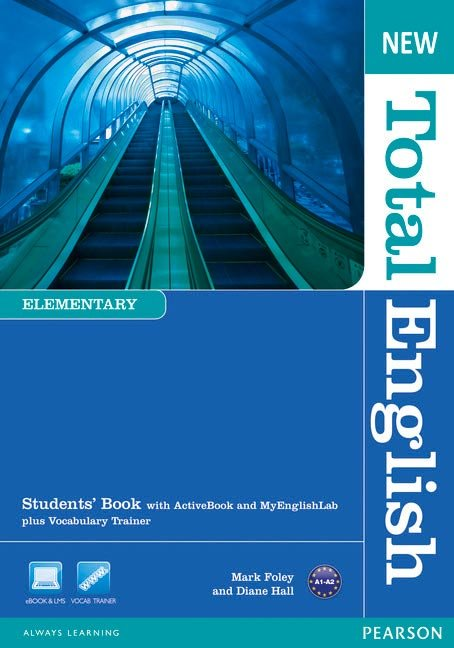 New total english elementary students' book with a