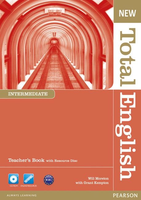 New total english intermediate teacher's book and