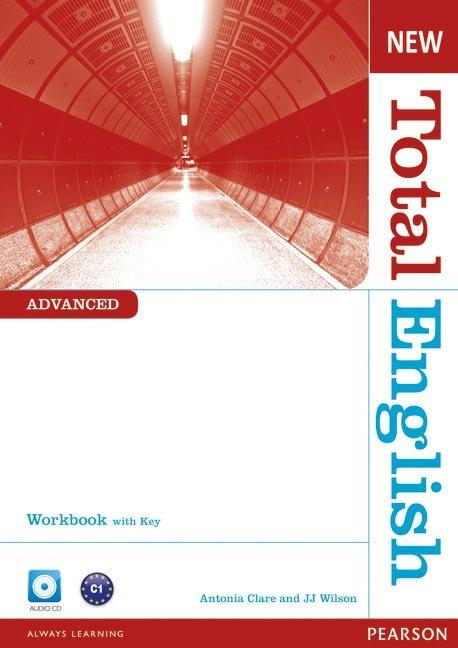 New total english advanced wb+key+cd