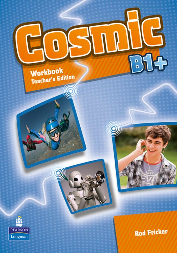 Cosmic b1+ workbook teacher's edition & audio cdpa