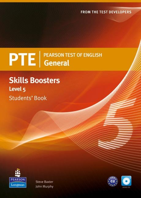 Pearson test of english general skills booster 5 s