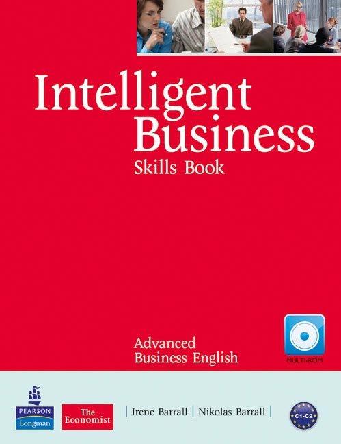 Intelligent business advanced skills book/cd-rom p