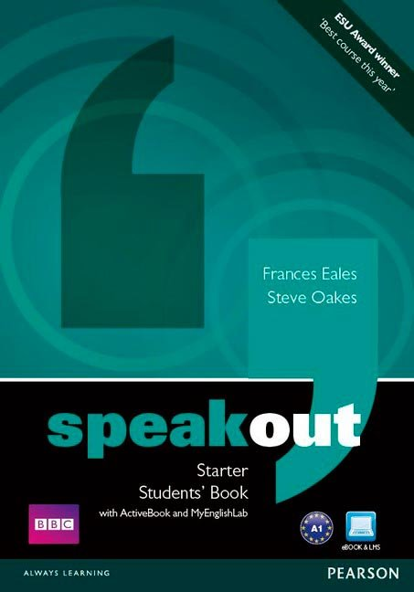Speakout starter(st+wb lab+dvd)