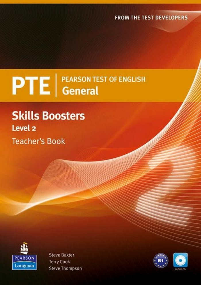 Pearson test of english general skills booster 2 t
