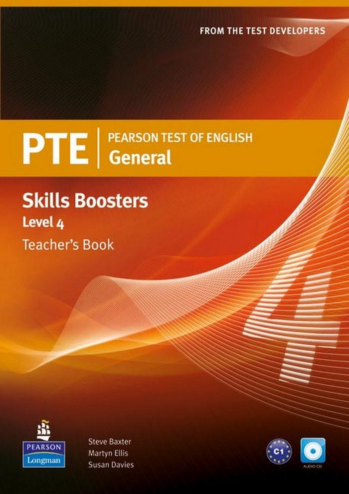Pearson test of english general skills booster 4 t