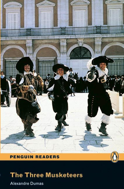 The three musketeers. readers level 2