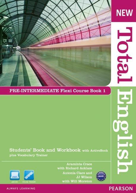 New total english pre-intermediate flexi coursebook 1 pack e