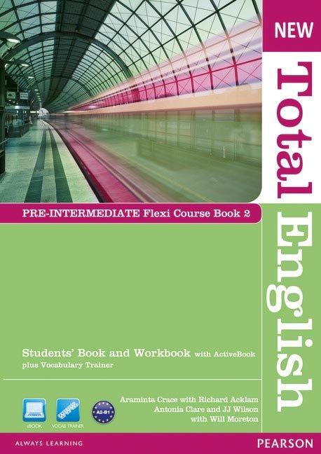 New total english pre-intermediate flexi coursebook 2 pack e