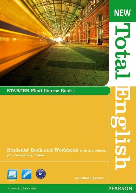 New total english starter flexi st 1 pack 13