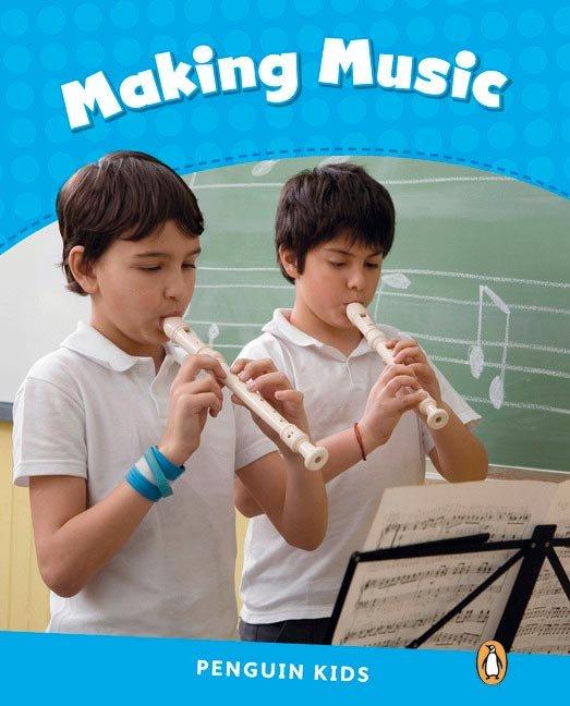 Making music penguin kids 1