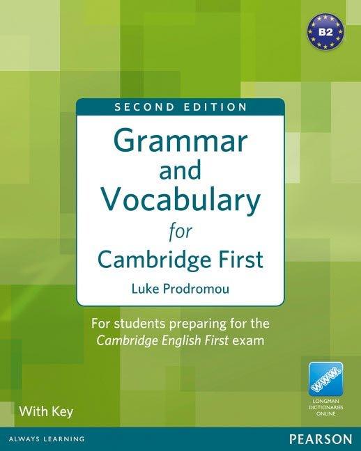 Grammar and vocabulary for fce + key