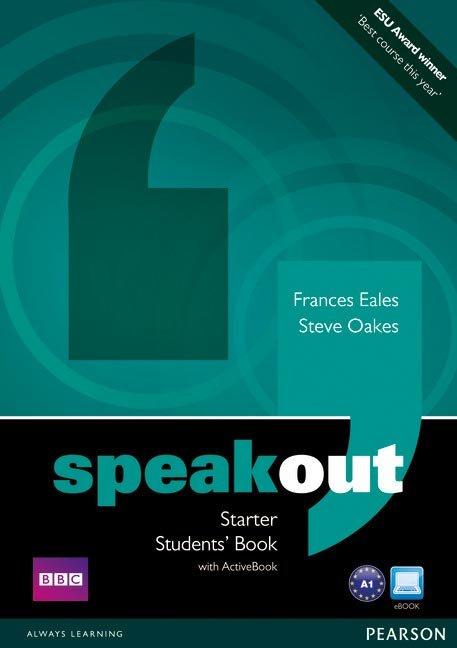 Speakout starter st+dvd+active pack