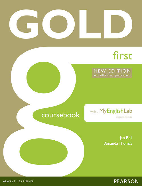 Gold first coursebook with mylab pack exams