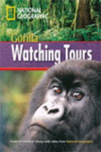 Gorilla watching tours  national pre-intermediate